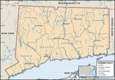 ct county 300x209 maps of connecticut