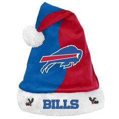 Buffalo Bills NFL 2017 Basic Plush Santa Hat Nfl 2017 3d6a6eead