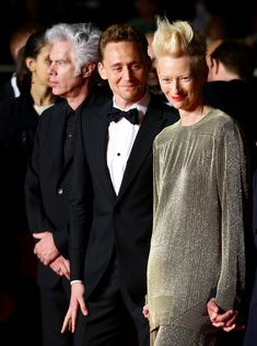 Tom + Jim + Tilda - Only Lovers Left Alive Premiere - The 66th Annual Cannes Film Festival