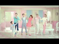 "SHINee and Dara CF for ""Etude"""