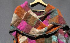 crochet poncho wrap cape / crochet ruana vest / by SophieCRO