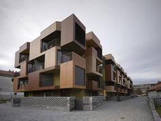 Tetris Apartments in Ljubljana, Slovenia - OFIS architects, 2005-2007