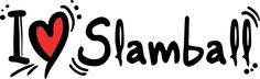 I Love Slamball Set of 2 Home Decal Vinyl Sticker 14'' X 4'' >>> Click image for more details. (This is an affiliate link and I receive a commission for the sales)
