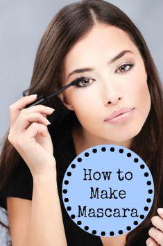 Homemade Mascara: Natural DIY Recipe