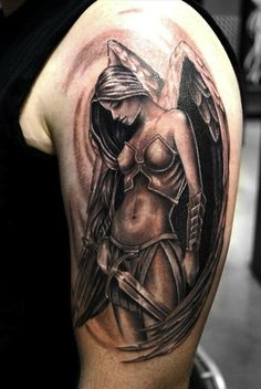 Tattoos of Angels and Demons - Inked Magazine