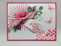 Kinda Eclectic Stamp Set All products used for card © Stampin' Up!