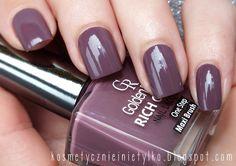 Kosmetycznie i nie tylko: Tydzień z lakierami Golden Rose: Rich Color 104