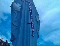 Así amanece monumento de la Virgen de La Paz [+Foto]