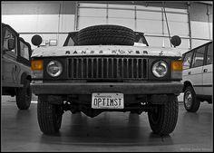 73 #RangeRover - LOVE IT! Great patina.
