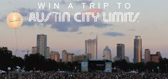 Teva Win a Trip for Two to the 2014 Austin City Limits Music Festival Sweepstakes