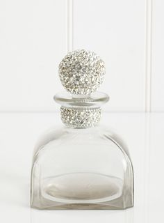 Large Diamante Perfume Bottle - bathroom decor - bathroom accessories - Home, Lighting & Furniture - BHS