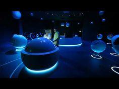 CERN New Interactive Exhibition Center - YouTube