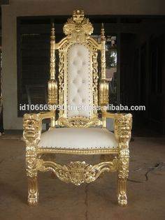 Source The Kings Chair - Throne - Queen and King Chair on m.alibaba.com