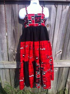 Arkansas Maxi Dress  Can be ANY school  by KrazyHeartStudios