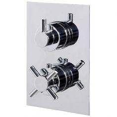 View the Concealed Dual Control Thermostatic Shower Valve. Shower Valve, Amazing Bathrooms, Door Handles, Stuff To Buy, Accessories, Style, Swag, Door Knobs, Door Pulls