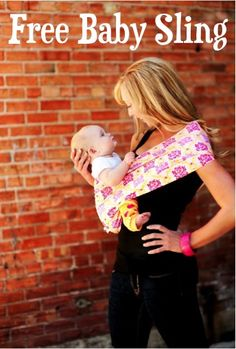 FREE Super Cute Baby Sling! {just pay s/h} ~ these make the BEST Baby Shower gifts, too!!