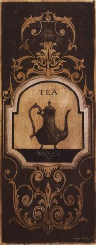Tea Time I (Kimberly Poloson)