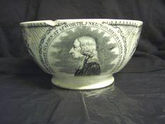 JOHN WESLEY AT EPWORTH 1791 CREAMWARE BOWL   eBay
