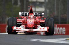 2003 Michael Schumacher, Ferrari F2002