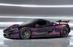 """McLaren P1 Colours"" to me it seems like the color can visually alter the shape of the car"