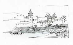 popular-rough-architectural-sketches-and-rough-sketch-architectural-drawings-paintings-pinterest-4.jpg (736×460)
