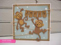 Miranda's Creaties: Themadag #81: Eline's monkeys