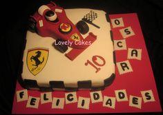 Tarta Ferrari Formula 1