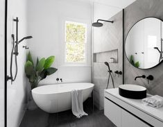 There are endless options when it comes to bathroom renovations. If you're thinking about renovating your powder room, ensuite, or main bathroom at all this year, you're probably wondering what's trending. Check out our favourite bathroom trends Bathroom Inspiration, Wet Room Bathroom, Bathroom Interior, Bathrooms Remodel, Laundry In Bathroom, Wet Rooms, Interior, Bathroom Trends, Bathroom Layout