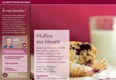 Quand vous réaliserez ces muffins bienmoelleux, pensez à en congeler quelques-uns. Pour déjeuner, comme dessert ou en collation, ils seront d'un grand secours quand letempsmanquera.