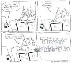 TRANSformers. By Nathan Bulmer.