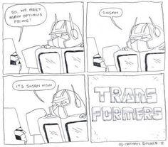 TRANSformers. By Nathan Bulmer.