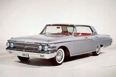 Mercury-Monterey-1962- Mercury Cars, Mercury Auto, Edsel Ford, Ford Motor Company, Buick, Custom Cars, Muscle Cars, Cool Cars, Chevrolet