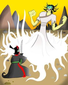Meanwhile, In an Alternate Dimension | Samurai Jack | Know Your Meme
