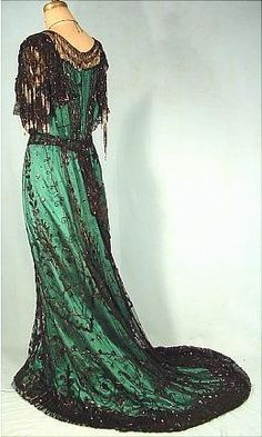 Evening Gown, c.1907