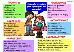 """Έκφωνη Σκέψη"" Activities For Kids, Crafts For Kids, School Hacks, School Tips, Language, Teaching, Education, Memes, Crafts For Children"