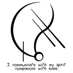 "Sigil Athenaeum - ""I communicate with my spirit companions with..."