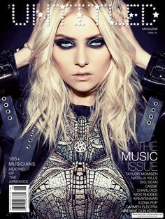Taylor Momsen's makeup in this photo. LAWD. It makes me come alive! I love it.