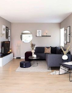 Exceptional small living room designs are available on our web pages. Check it out and you will not be sorry you did. Small Living Rooms, Home Living Room, Apartment Living, Living Room Designs, Living Room Furniture, Living Room Decor With Tv, Decorate Apartment, Room Interior, Handmade Accessories