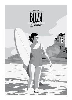 © Marcel Surf Classics BELZA www.marcel-biarritz.com