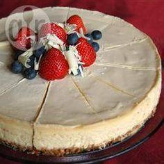 Cheesecake tradicional de New York @ allrecipes.com.ar