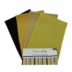 Dovecraft Natural A4 Felt Multiple Pack