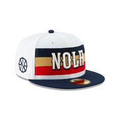 26a99ad8f69 New orleans pelicans nba authentics earned series 59fifty fitted. New Era  Cap