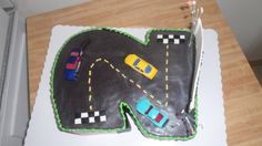 2nd Birthday Cake, car cake, specialty cake, birthday cake, party cake, http://tiered-expressions.com