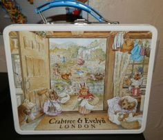 Crabtree Evelyn Beatrix Potter Peter Rabbit Bunny Vintage Lunch BOX 1985 | eBay