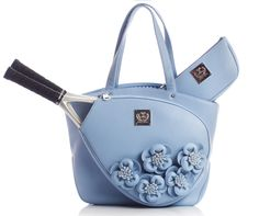 Cassanova Blue Rose http://courtcouturetennis.com/designer-tennis-bags-cassanova-floral/Court-Couture-Cassanova-Blue-%20Rose