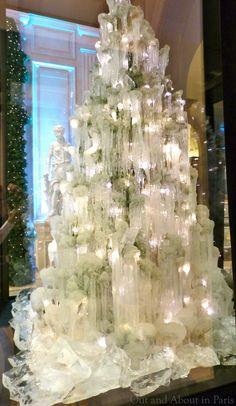 Ice Christmas Tree at George V