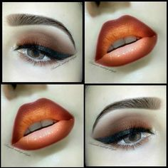Beautiful Lips, Gorgeous Makeup, Love Makeup, Black Makeup, Beauty Skin, Beauty Makeup, Beauty Tips, Makeup Tips Step By Step, Smokey Eyeliner