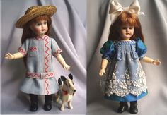 Bleuette dresses based on LSDS patterns.  Made by House-of-Bleus