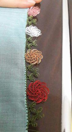 This Pin was discovered by Zer Crochet Borders, Crochet Stitches, Crochet Patterns, Stitch Patterns, Needle Tatting, Needle Lace, Bead Crochet, Irish Crochet, Yarn Crafts