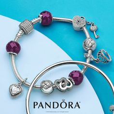 Be the beauty queen you are and accessorize with PANDORA Jewelry.  Let delicate pavé and a bold pop of color finished with the PANDORA sterling silver tiara dangle express you!